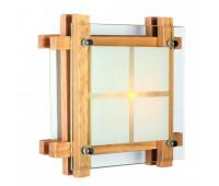 Настенно-потолочный светильник  Omnilux OML-40517-01  Натуральное дерево (пр-во Китай)