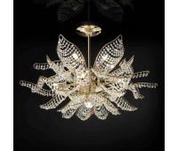 Потолочный светильник IDL 436/10+1PF Light gold  Светлое золото (пр-во Италия)