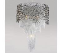Подвесной светильник Crystal Lux Hauberk SP-PL8 D60  Никель (пр-во Испания)