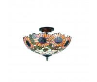 Потолочный светильник Omnilux OML-80407-03  Темно-коричневый (пр-во Китай)
