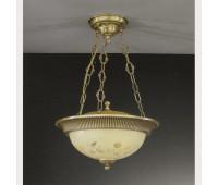 Подвесной светильник  Reccagni Angelo PL 6218/3  Состаренная бронза (пр-во Италия)