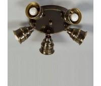 Потолочная люстра Favel 05131/0005A Bronz Riffl  Бронза состаренная (пр-во Италия)