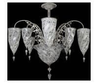 Потолочная люстра Archeo Venice Design Fontana F9/9 WD  Хром (пр-во Италия)