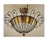 Потолочный светильник Baga, Patrizia Garganti 623  Античная латунь, коричневый (пр-во Италия)