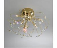 Потолочный светильник Kolarz 1307.19.3  Золотой, прозрачный (пр-во Австрия)