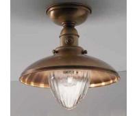 Потолочный светильник  Cremasco 7054/1PL-BRSF  Бронза (пр-во Италия)