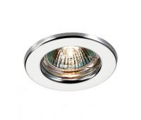 Встраиваемый неповоротный светильник  Novotech 369702  Хром (пр-во Венгрия)