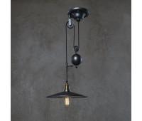 Подвесной светильник Loft IT LOFT1832C-1  Дымчатый черный (пр-во Испания)