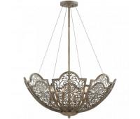 Подвесной светильник  Savoy House 7-8061-6-45  Латунь с коричневым (пр-во США)
