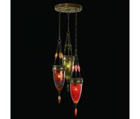 Подвесной светильник  Fine Art Lamps 608640-6ST  Состаренная бронза (пр-во США)
