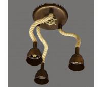 Потолочный светильник Favel 05293/T0PL3  Бронза (пр-во Италия)