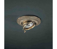 Точечный светильник Reccagni Angelo SPOT 1082 Oro  Французское золото (пр-во Италия)