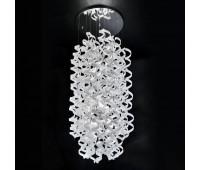 Потолочный светильник Metal Lux 206.640.02  Хром,белый (пр-во Италия)