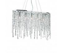 Люстра Ideal Lux Rain Clear SP5  Хром, прозрачный (пр-во Италия)