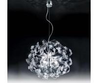 Подвесной светильник Metal Lux 206.155.01  Хром,прозрачный (пр-во Италия)
