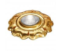 Точечный светильник Possoni DL7809 (006)    Французское золото (пр-во Италия)