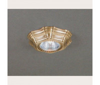 Точечный светильник Reccagni Angelo SPOT 1096 Oro Faretti spot  Французское золото (пр-во Италия)