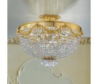 Потолочный светильник Masiero VE 818 PL18  Золотой (пр-во Италия)
