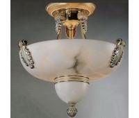 Потолочный светильник Bejorama B/2019 sat blanc  Золото с белой патиной (пр-во Испания)