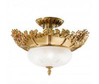 Потолочная люстра Possoni 700/4SF (002)  Французское золото (пр-во Италия)