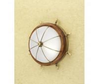 Потолочный светильник  Lustrarte 606/35-0622  Матовая латунь, коричневый (пр-во Португалия)