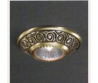 Точечный светильник Reccagni Angelo Spot 7002    Бронзовый (пр-во Италия)
