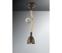 Потолочный светильник Favel 05293/00PL1  Бронза (пр-во Италия)