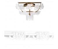 Потолочный светильник IL Paralume Marina 1872  Состаренное золото, прозрачно-белый (пр-во Италия)