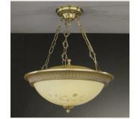 Подвесной светильник  Reccagni Angelo PL 6218/4  Состаренная бронза (пр-во Италия)