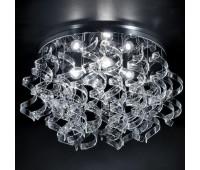 Потолочный светильник Metal Lux 206.370.01  Хром,прозрачный (пр-во Италия)