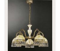 Люстра Reccagni Angelo L 6906/5  Французское золото (пр-во Италия)