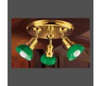 Потолочная люстра Moretti Luce ART 1075.V.8  Золото (пр-во Италия)