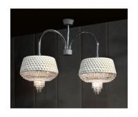 Подвесной светильник Rugiano 8050/2  Хром (пр-во Италия)