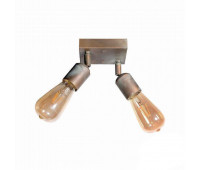 Настенно-потолочный светильник  Moretti Luce 3095.AR  Состаренная омедненная латунь (пр-во Италия)