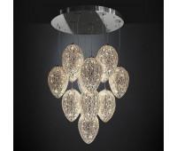Подвесной светильник  VG New Trend 7511525.98  Прозрачный, хром (пр-во Италия)