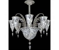Потолочная люстра Archeo Venice Design Fontana F10/9 WD  Хром (пр-во Италия)