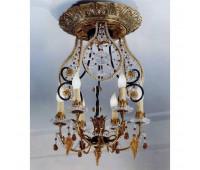Потолочная люстра  Gallo M 471  Золото (пр-во Италия)