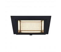 ALAMEA LED 30W светильник встраиваемый 700мА с LED 30Вт, 3000К, 2900лм, черный SLV 1000787  (пр-во Германия)