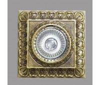 Точечный светильник  Nervilamp Z4 Gold Bronze   Бронзовый с позолотой (пр-во Италия)