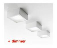 Уличный настенно-потолочный светильник  Panzeri EP04401.000.0106+XM14/230 NOVELTY  Белый (пр-во Италия)