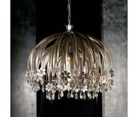 Подвесной светильник Eurolampart 1085/06LA Argento nero  Черненое серебро (пр-во Италия)