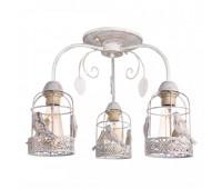 Светильник потолочный Arte Lamp A5090PL-3WG CINCIA  Бело-золотой (пр-во Италия)