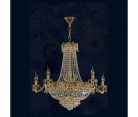 Люстра  Salvilamp 2994/6 gold blak asf  Золото (пр-во Испания)