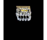 Встраиваемый светильник Faustig 01003.2-1  Золото, прозрачный (пр-во Германия)