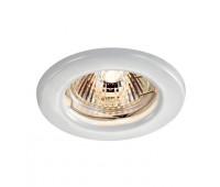 Встраиваемый неповоротный светильник  Novotech 369705  Белый (пр-во Венгрия)