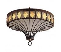 Потолочный светильник Baga, Patrizia Garganti 758  Античная латунь, коричневый (пр-во Италия)
