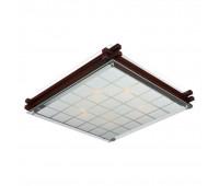 Настенно-потолочный светильник  Omnilux OML-40507-05  Темно-коричневый (пр-во Китай)