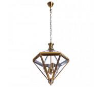Светильник подвесной Arte Lamp 7400/17 SP-4 CONO  Латунь (пр-во Италия)