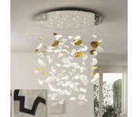 Потолочный светильник Reflex Angelo LEAF 123  Зеркальный (пр-во Италия)