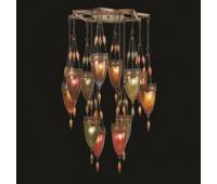 Подвесной светильник  Fine Art Lamps 718540-6ST  Сатинированная бронза (пр-во США)